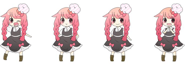 Cookデコル イメージキャラクター